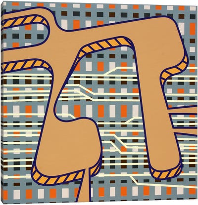 Lines Project #79 Canvas Art Print