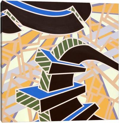 Lines Project #61 Canvas Art Print