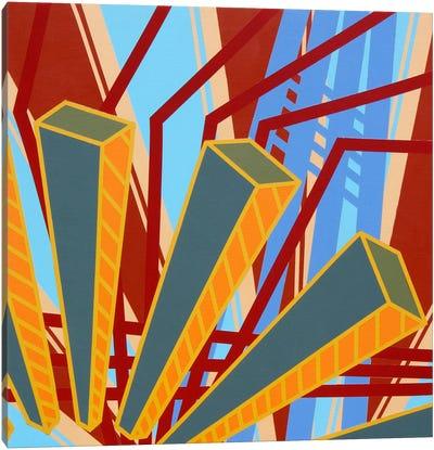 Lines Project #62 Canvas Art Print