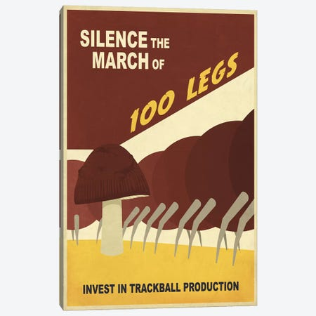 Silence the March Canvas Print #15525} by Steve Thomas Canvas Art