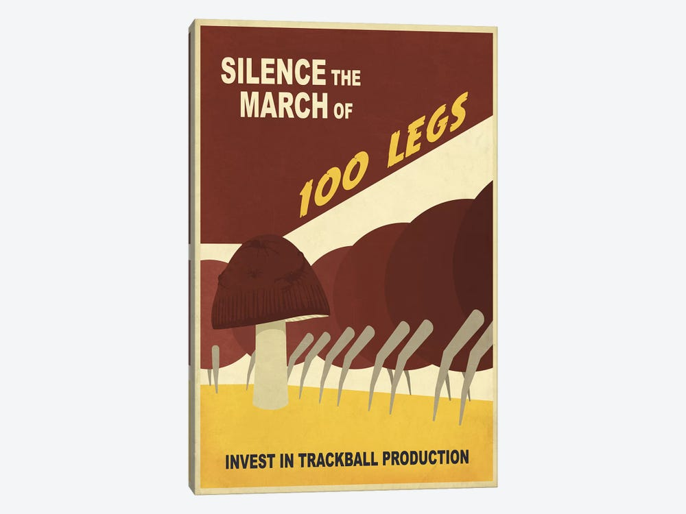 Silence the March by Steve Thomas 1-piece Canvas Print