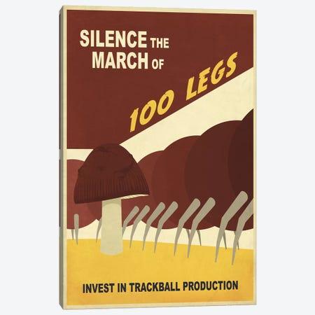 Silence the March Canvas Print #15525} by Steve Thomas Canvas Art