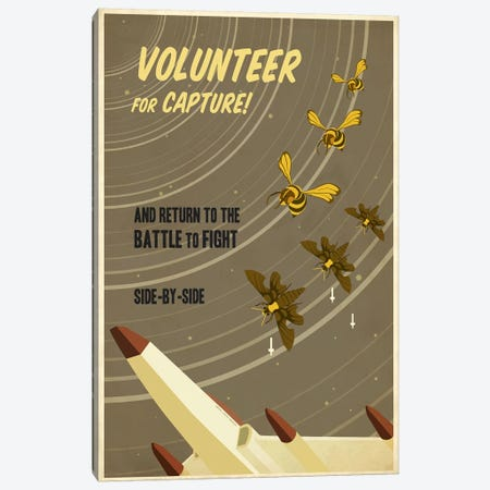 Volunteer for Capture Canvas Print #15529} by Steve Thomas Art Print