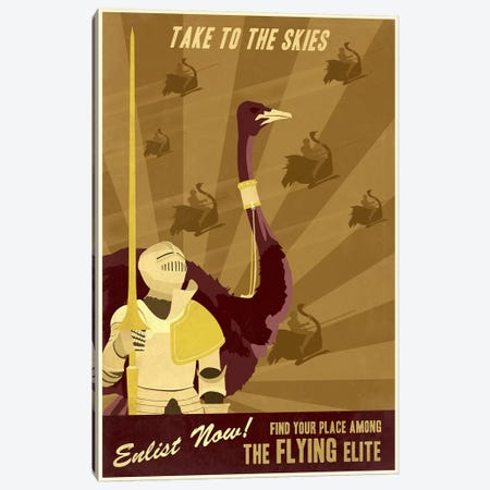 The Flying Elite Canvas Print #15530} by Steve Thomas Canvas Artwork