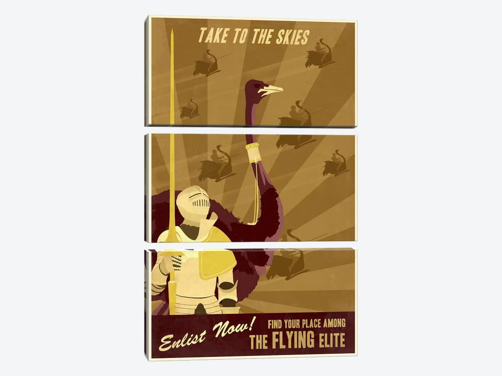 The Flying Elite by Steve Thomas 3-piece Art Print