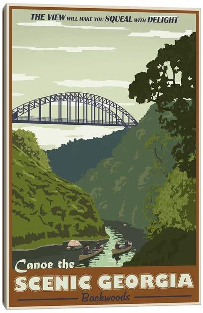 Cahulawasee River Canvas Print #15535
