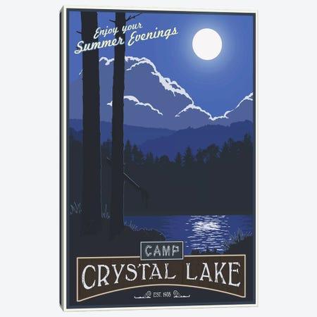 Camp Crystal Lake Canvas Print #15536} by Steve Thomas Canvas Print