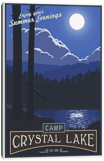 Camp Crystal Lake Canvas Art Print