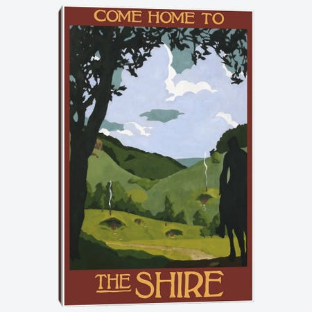 Come Home To The Shire Canvas Print #15537} by Steve Thomas Art Print