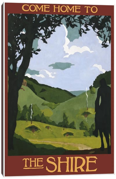 Come Home To The Shire Canvas Art Print