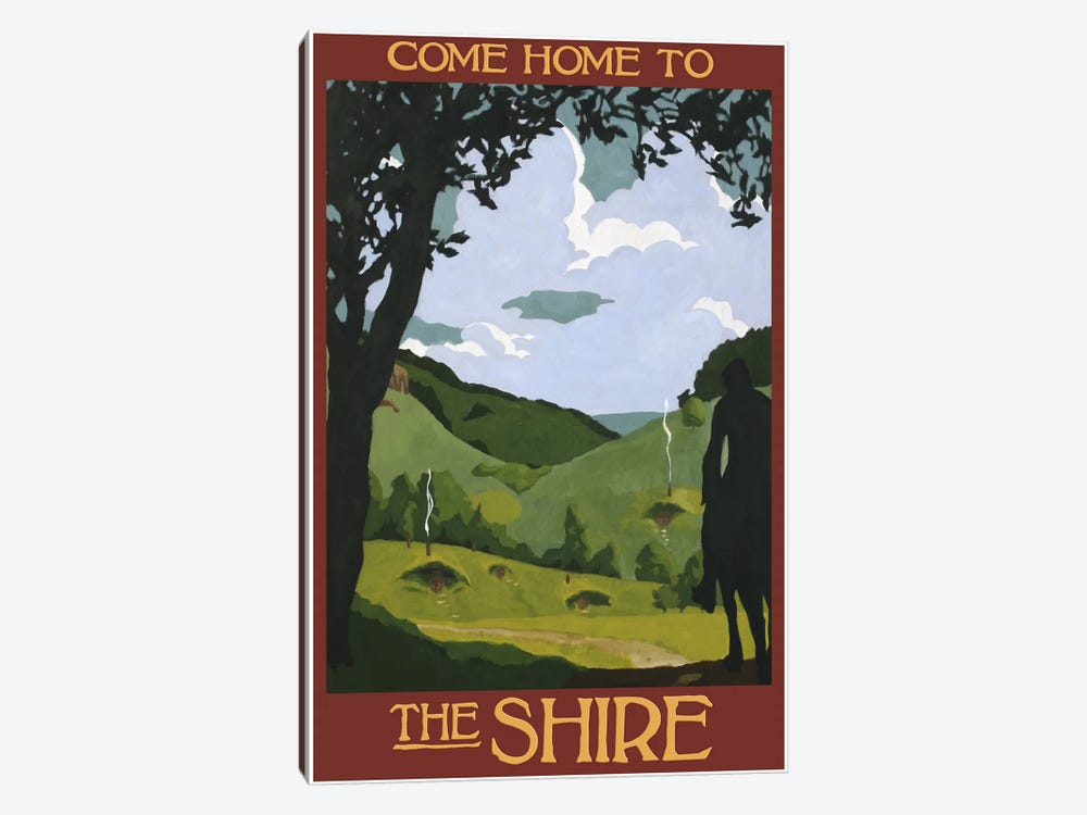 Come Home To The Shire by Steve Thomas 1-piece Canvas Artwork