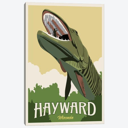 Hayward Muskie Canvas Print #15540} by Steve Thomas Canvas Art Print