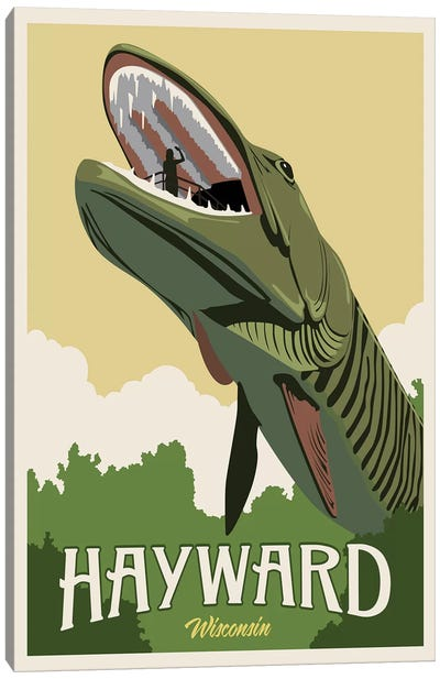 Hayward Muskie Canvas Art Print