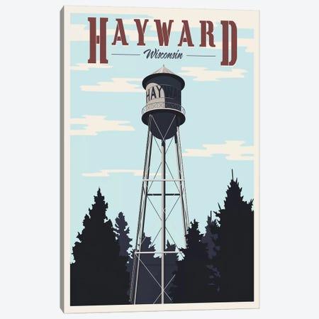 Hayward Water Tower Canvas Print #15541} by Steve Thomas Canvas Art Print