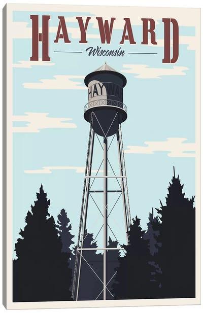 Hayward Water Tower Canvas Art Print