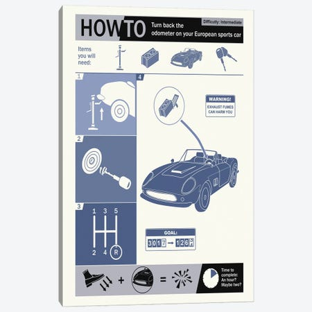 How To Turn Back The Canvas Print #15545} by Steve Thomas Canvas Artwork