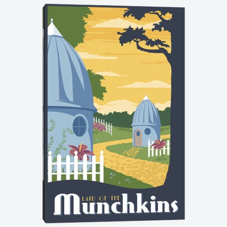 Munchkin Travel Canvas Print #15546} by Steve Thomas Canvas Artwork