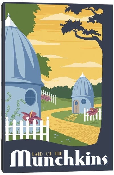 Munchkin Travel Canvas Art Print