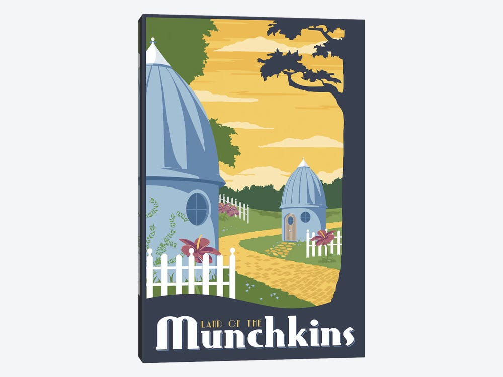 Munchkin Travel by Steve Thomas 1-piece Canvas Wall Art