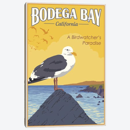 Bodega Bay Canvas Print #15548} by Steve Thomas Canvas Print