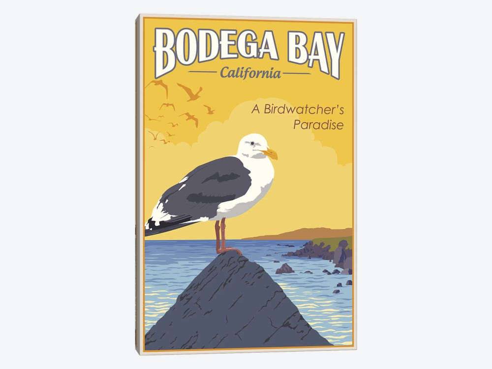 Bodega Bay by Steve Thomas 1-piece Canvas Wall Art