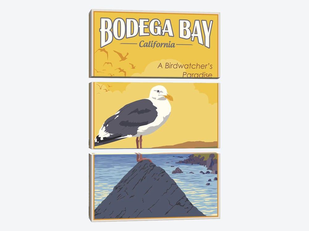 Bodega Bay by Steve Thomas 3-piece Canvas Artwork