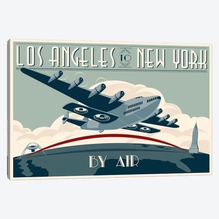 LA To NY Zazzle #2 Canvas Print #15550} by Steve Thomas Canvas Artwork