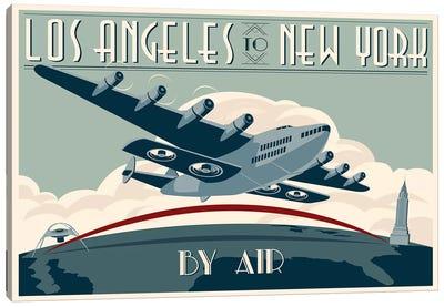 LA To NY Zazzle #2 Canvas Art Print