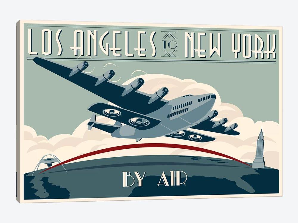 LA To NY Zazzle #2 by Steve Thomas 1-piece Art Print