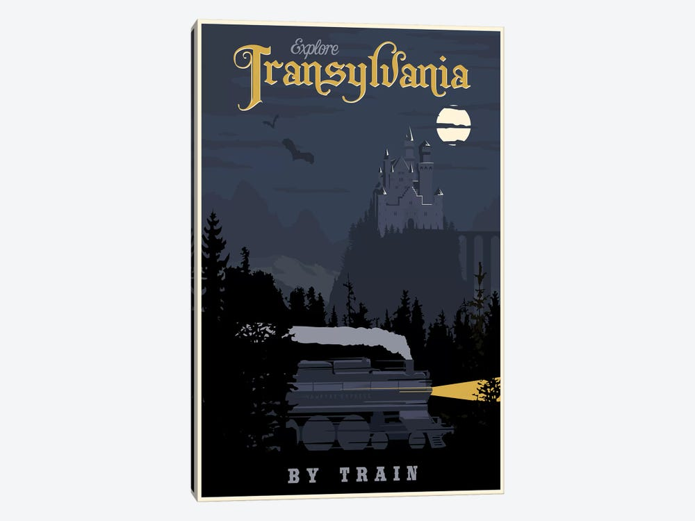 Transylvania Travel by Steve Thomas 1-piece Canvas Artwork