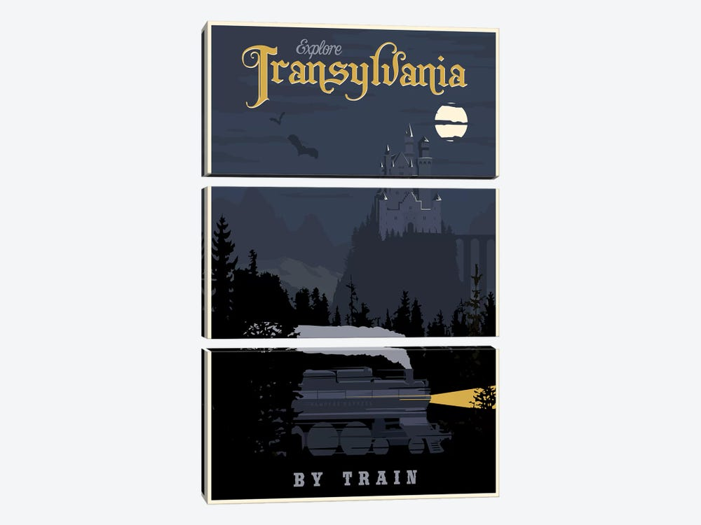 Transylvania Travel by Steve Thomas 3-piece Canvas Wall Art