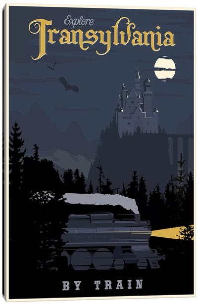 Transylvania Travel Canvas Art Print