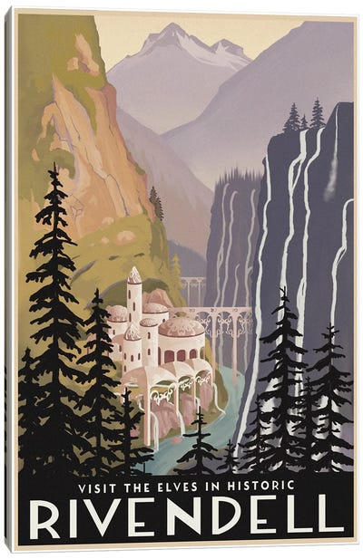 Visit Historic Rivendell Canvas Art Print