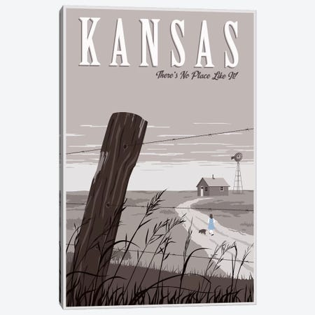 Wizard Oz Kansas Duo Canvas Print #15554} by Steve Thomas Canvas Print