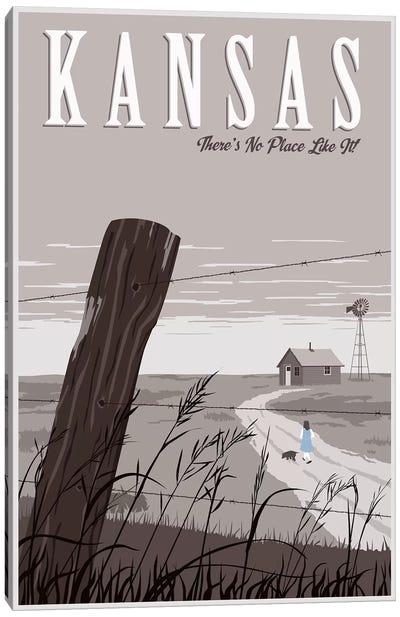 Wizard Oz Kansas Duo Canvas Art Print