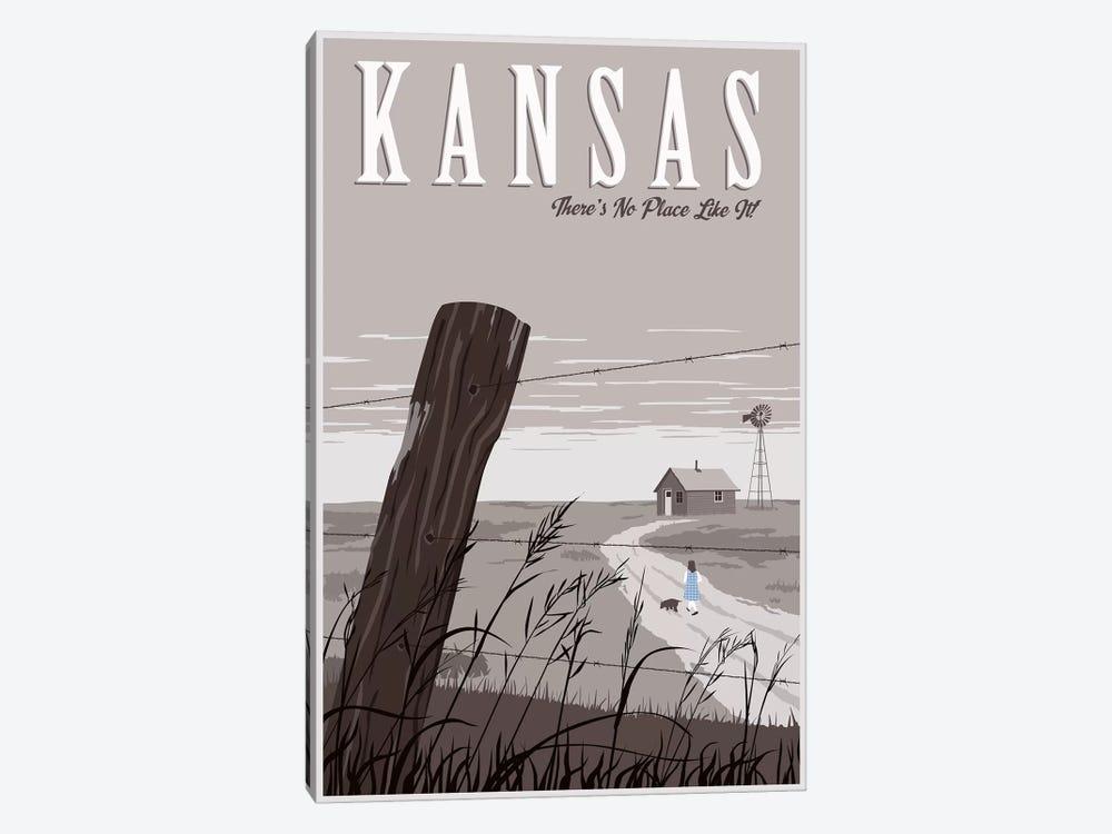 Wizard Oz Kansas Duo by Steve Thomas 1-piece Canvas Art Print