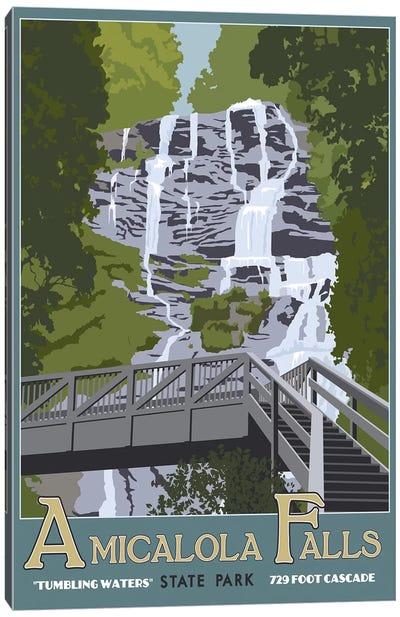 Amicalola Falls Canvas Art Print