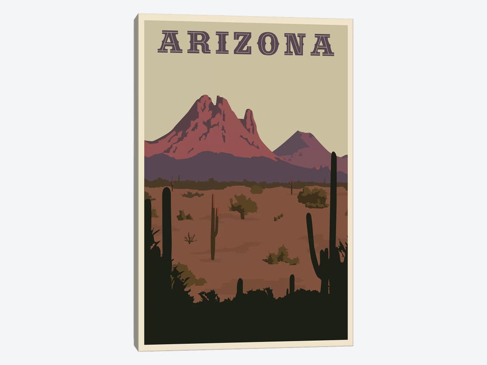 Arizona 1-piece Canvas Art Print