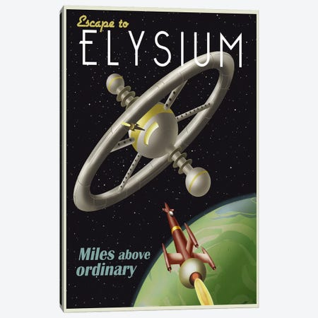 Elysium Canvas Print #15560} by Steve Thomas Art Print
