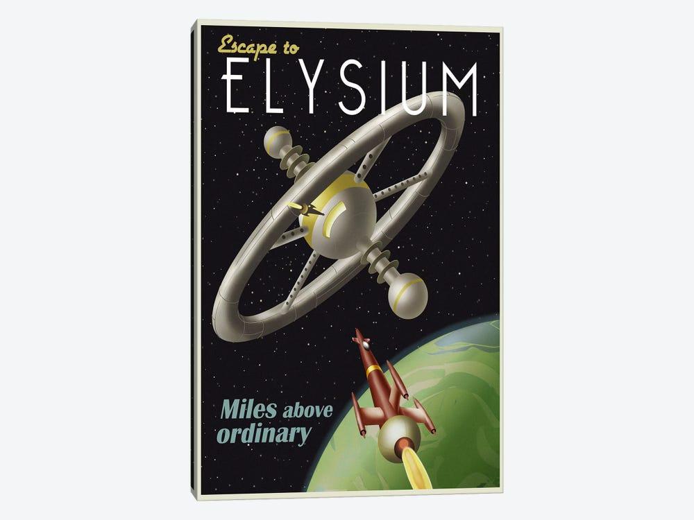 Elysium by Steve Thomas 1-piece Canvas Art