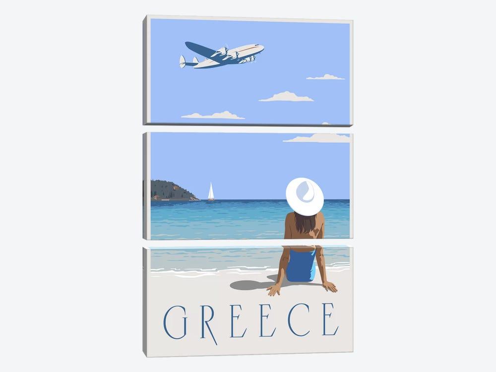 Greece by Steve Thomas 3-piece Art Print