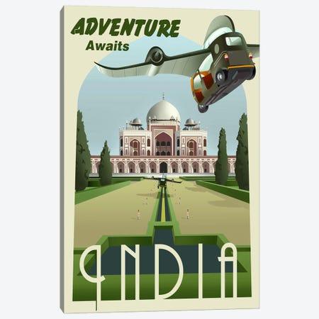 India Canvas Print #15562} by Steve Thomas Canvas Art Print