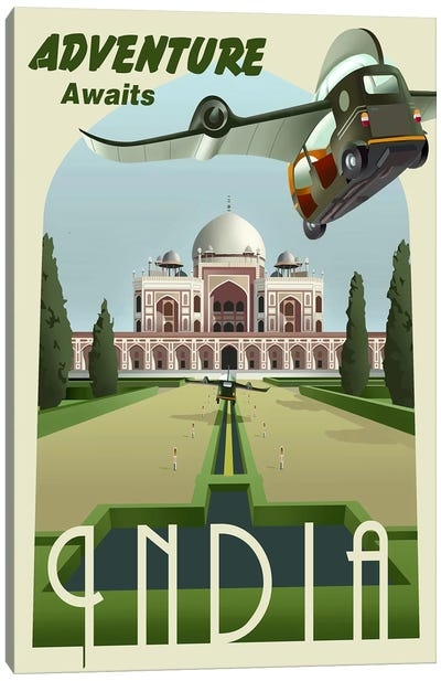 India Canvas Print #15562