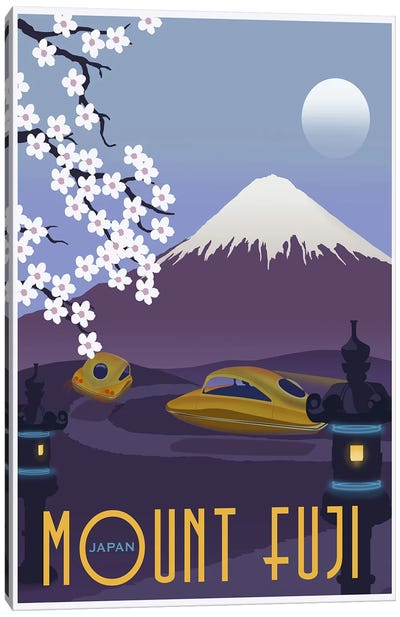 Mt Fuji Canvas Print #15563