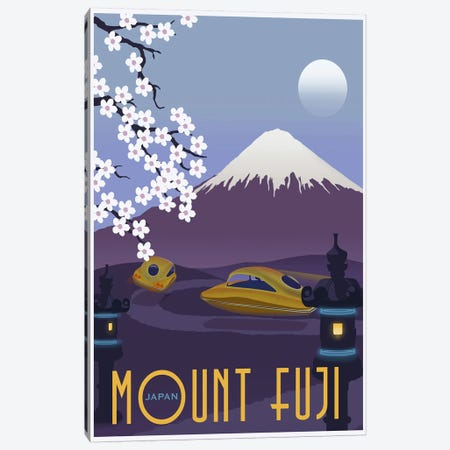 Mt. Fuji Canvas Print #15563} by Steve Thomas Canvas Print