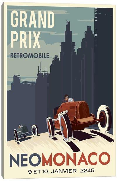 Car Race Canvas Art Print