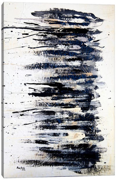 Shading in Black #2 Canvas Art Print