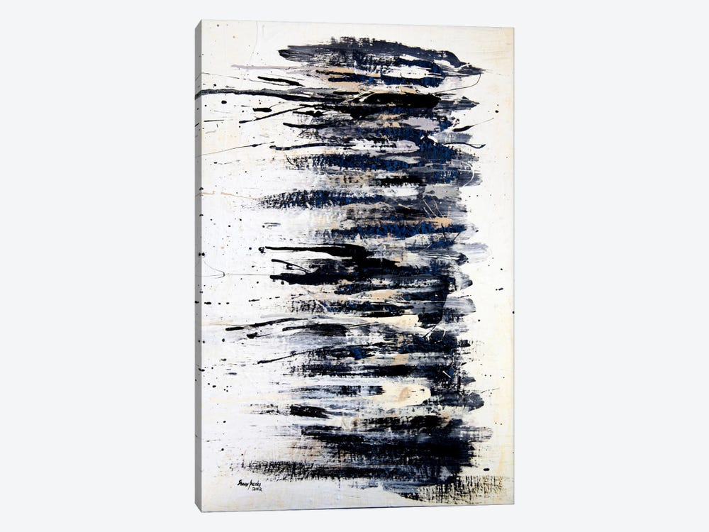 Shading in Black #2 by Shawn Jacobs 1-piece Canvas Art Print