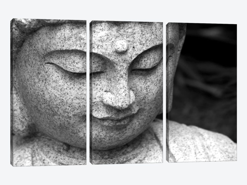 Chinese Buddha 3-piece Canvas Wall Art