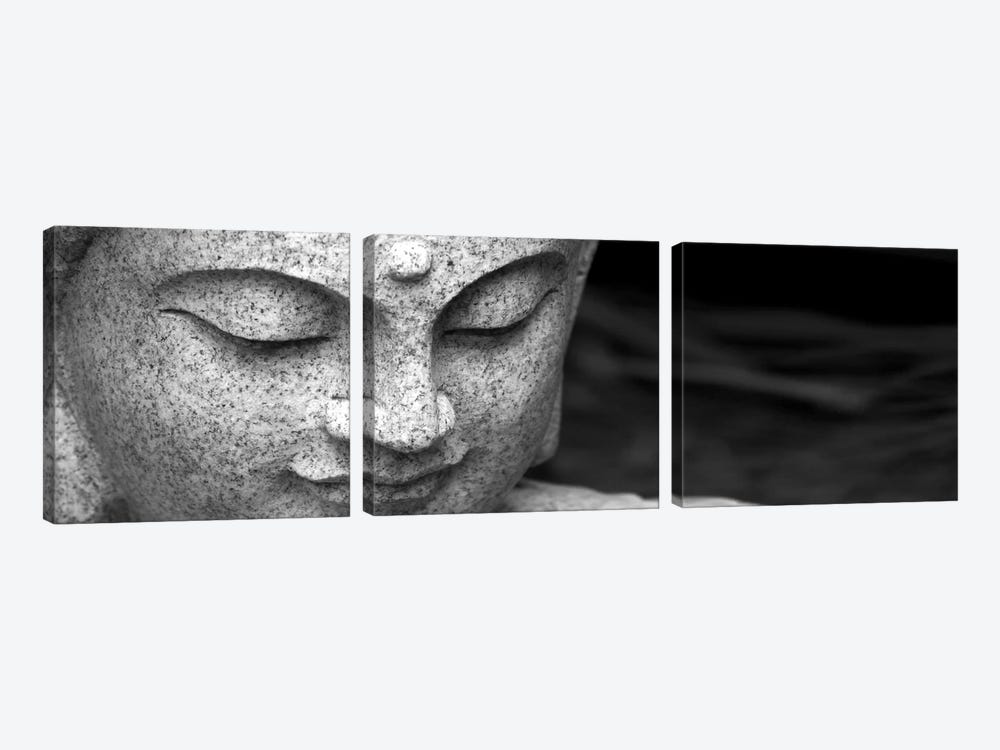 Chinese Buddha by Unknown Artist 3-piece Canvas Artwork